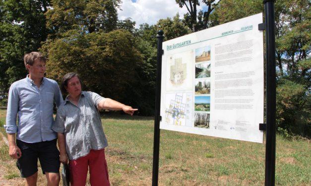 Neue Schilder und Infotafeln für die Bornimer Feldflur