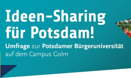 Umfrage zum Wissenschaftspark Potsdam-Golm