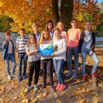 Grundschüler im internationalen Projekt