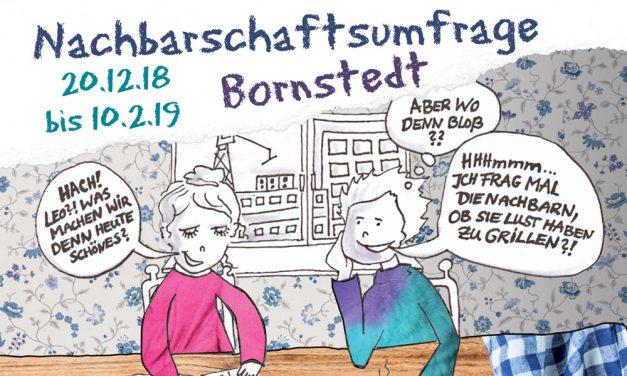 Nachbarschaftsumfrage in Bornstedt
