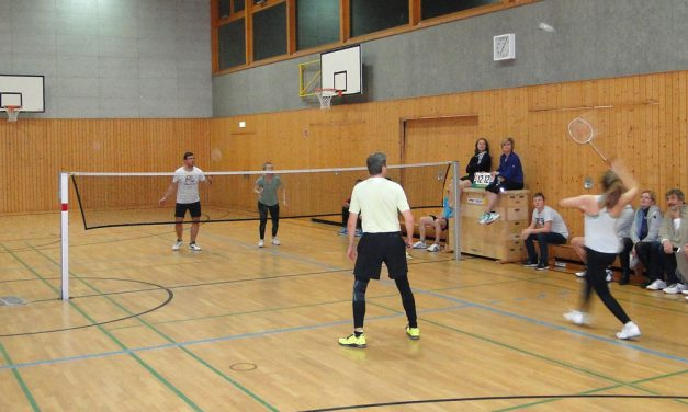 Badminton-Turnier