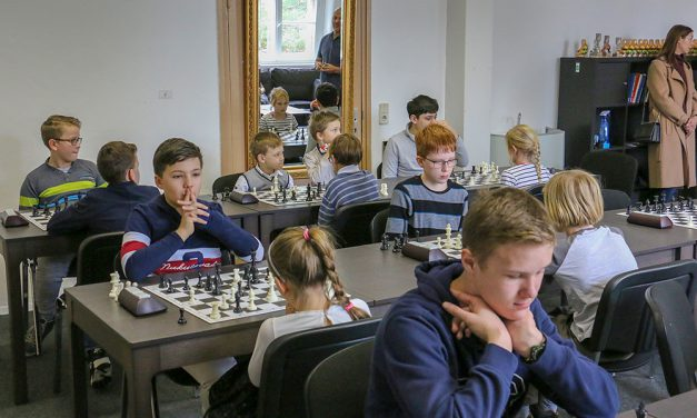 Frühjahrs-Schachmeister im Villenpark-Potsdam gekürt