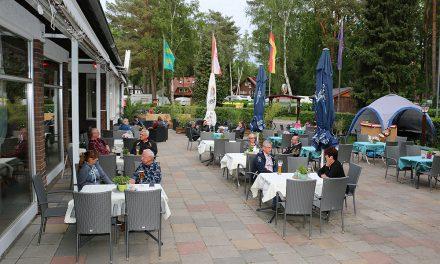 Großer Biergarten zwischen Berlin und Potsdam