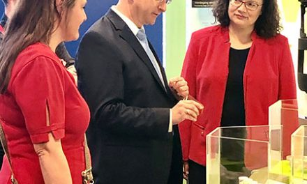 Politkerinnen im Wissenschaftspark