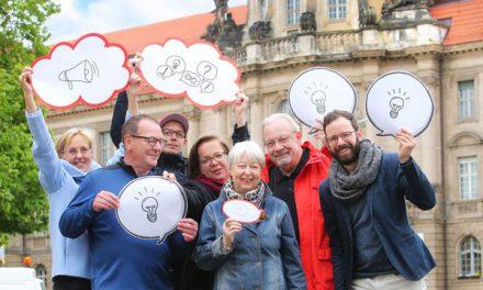 Jetzt sind Ihre Ideen für Potsdam gefragt