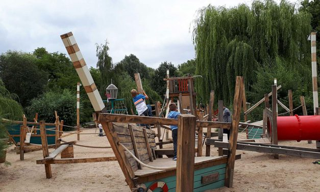 Schöne Spielplätze überall in Potsdam