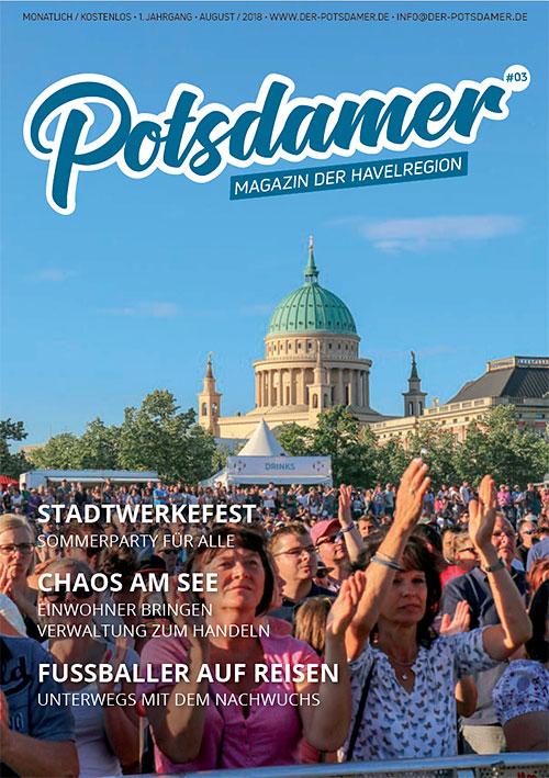 POTSDAMER Titelbild Ausgabe 3 (8/2018)