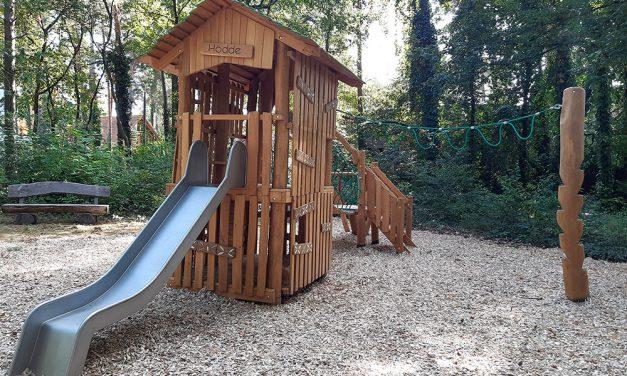 Groß Glienicke hat einen neuen Spielplatz