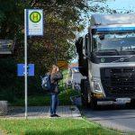 Geschwindigkeitsreduzierung für LKW in Paaren abgelehnt!