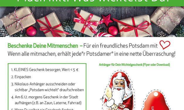 Potsdam wichtelt