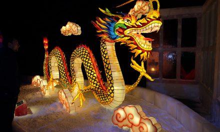Asiens zauberhafte Welt aus Eis bei Karls