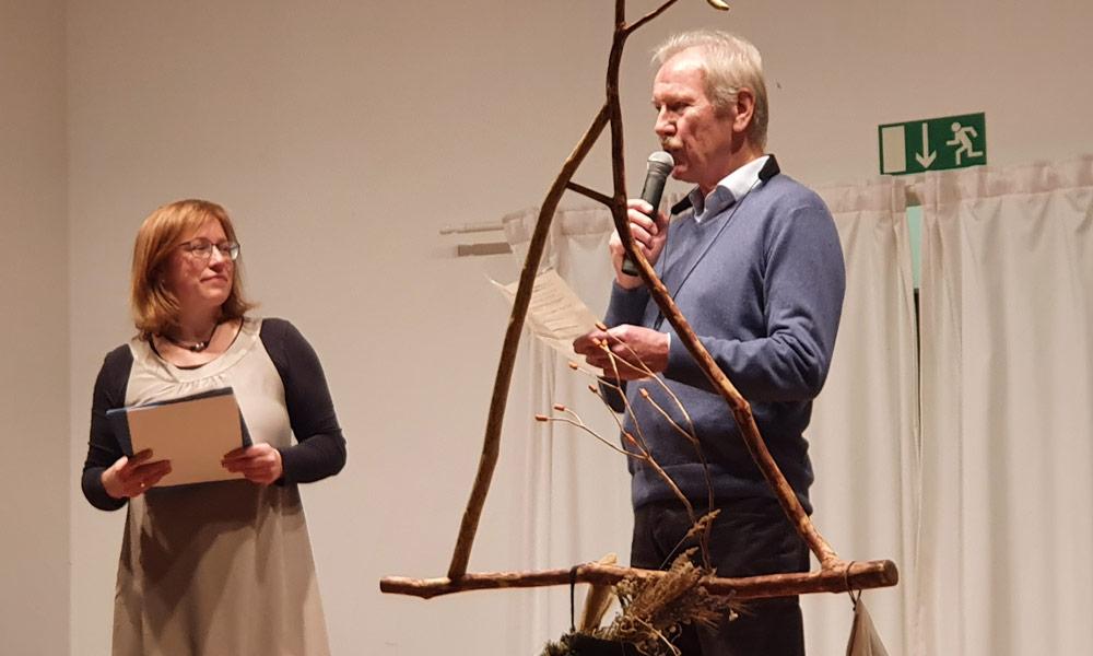 Susanna Krüger und Josef Grütter