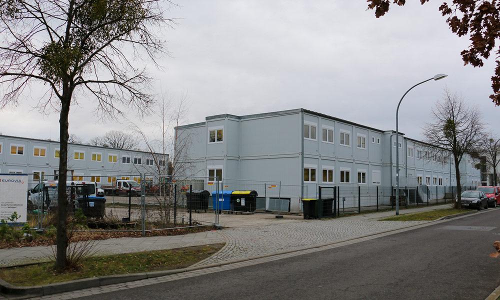 Nach den Winterferien bezieht die Schule am Schloss für die nächsten Jahre Quartier im Modulbau an der Esplade 5.