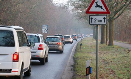 Verkehr im Raum Potsdam-Groß Glienicke-Spandau
