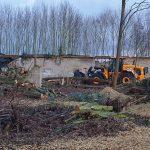 Tabula rasa neben dem Friedhof in Fahrland
