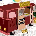 Food-Trucks im Science Park in Golm