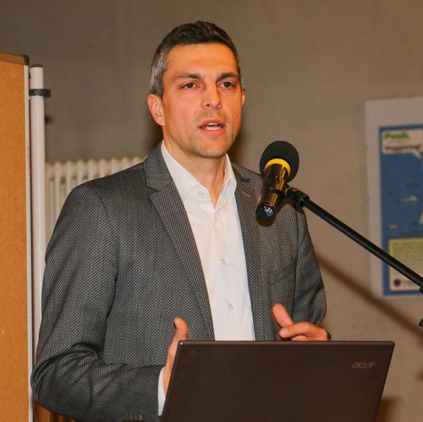 Norman Niehoff, Leiter der Verkehrsplanung in Potsdam