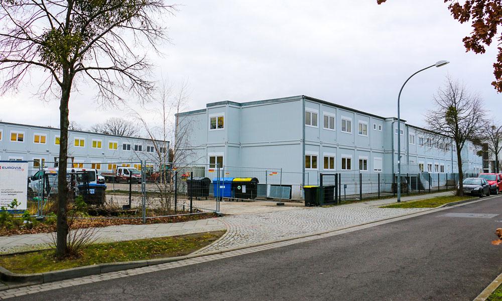 Der Campus der Schule am Schloss in Bornstedt