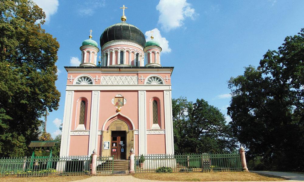 Die Alexander-Newski-Gedächtniskirche wurde in den 1990er Jahren umfangreich saniert