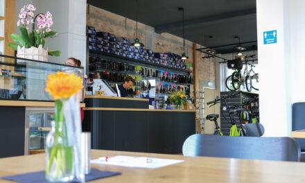 Café mit Rädern