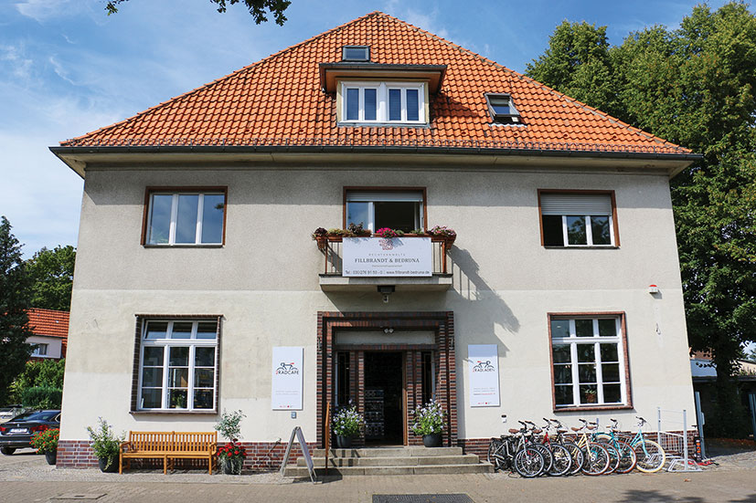 """Die """"Alte Post"""" wird heute neu genutzt"""