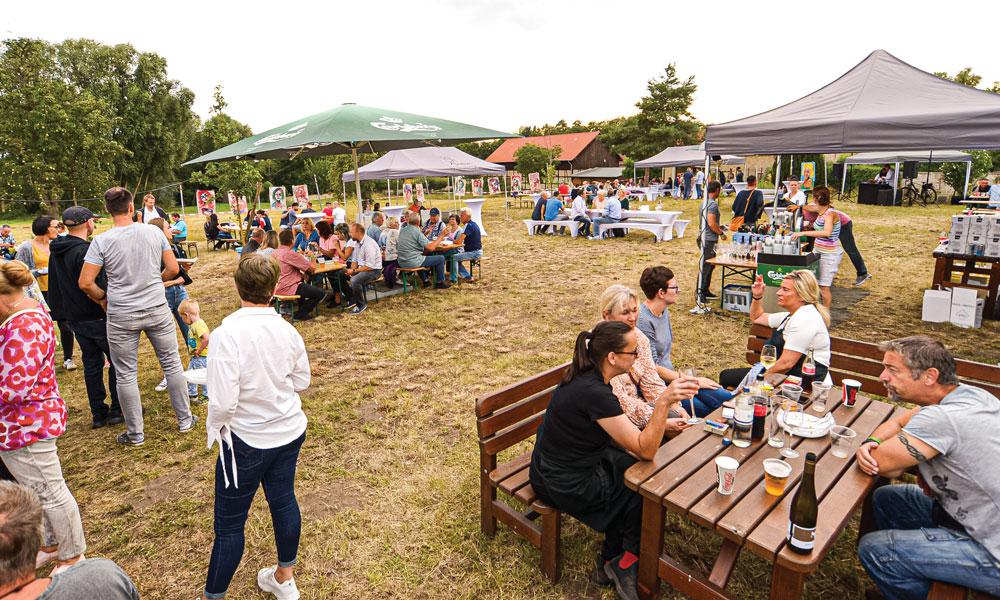 Ein Fest in Dorfatmosphäre für die ganze Familie