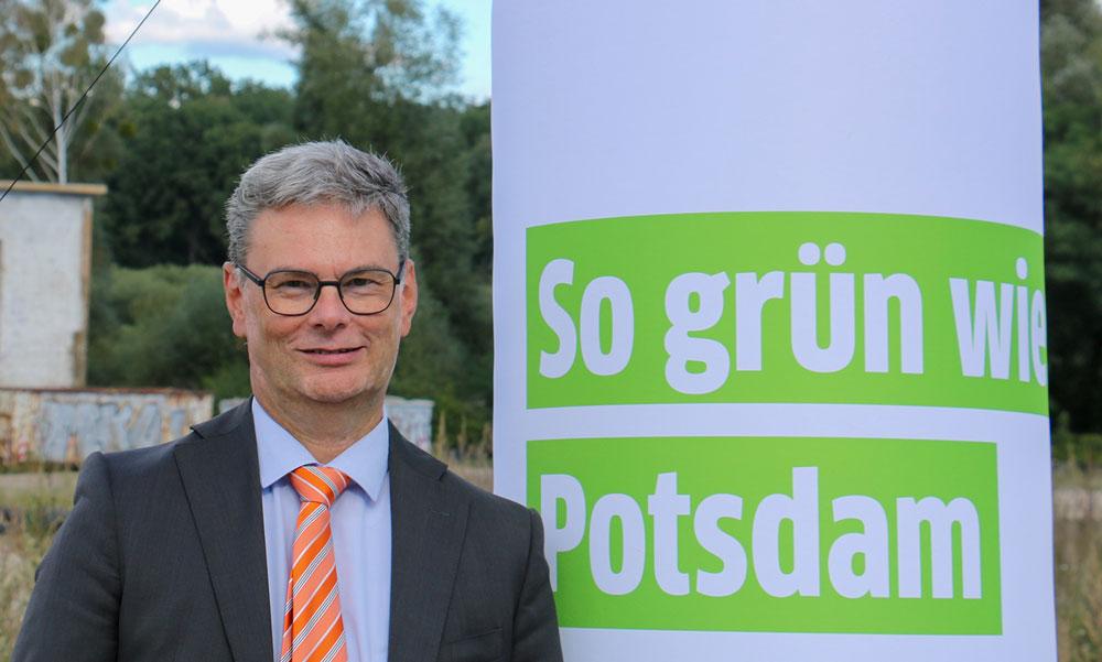 Eckard Veil, Geschäftsführer der Energie und Wasser Potsdam GmbH, ist stolz auf das flexible, ökologische und innovative Energiekonzept