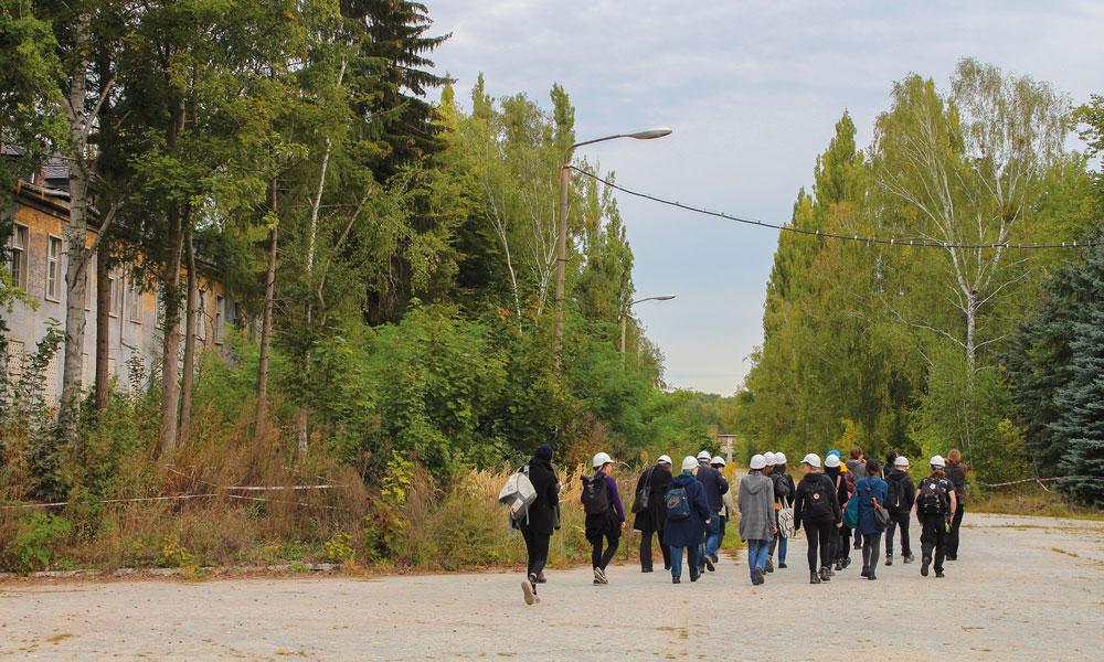 Die Studenten sind schon gespannt, was bei den Untersuchungen der Gebäude in Krampnitz herauskommt