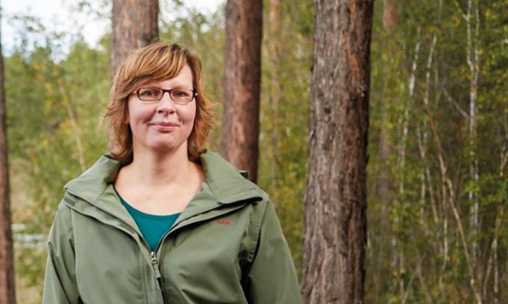 Susan Fischer, Vorsitzende des Potsdamer Naturschutzbeirates