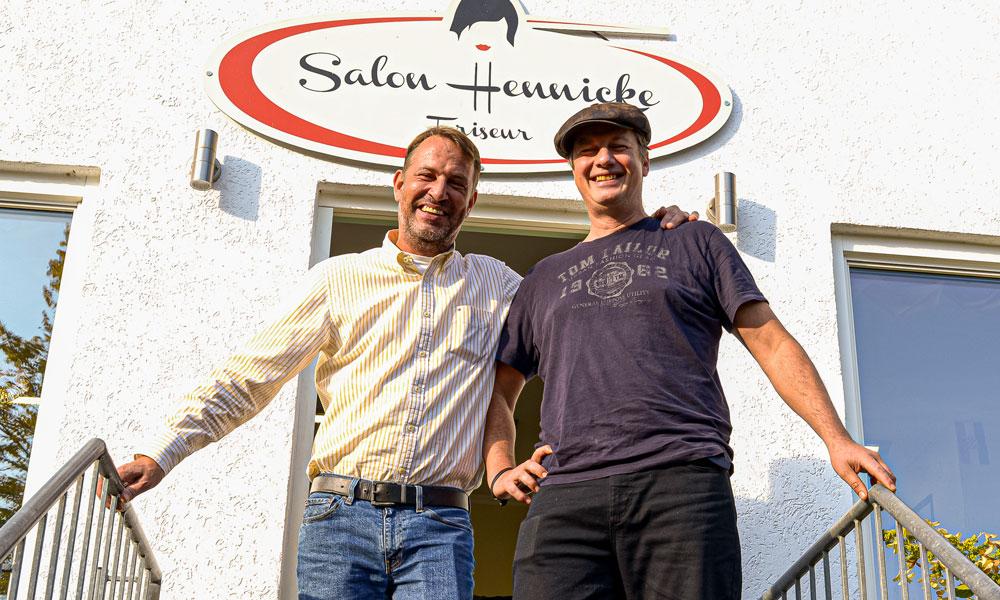 André Hennicke und Lutz Henke