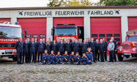 Brandenburger Feuerwehren werden zukunftssicher