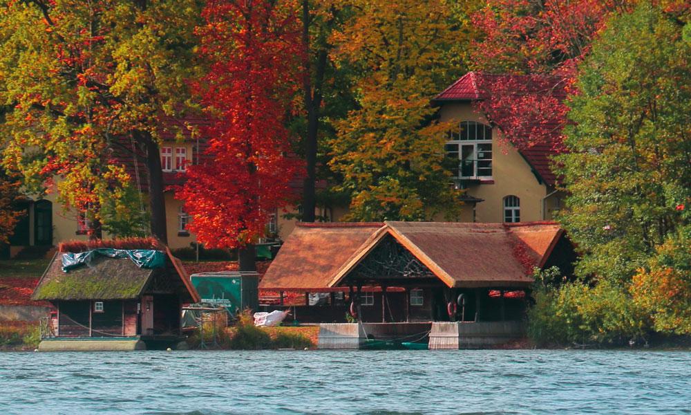 Das Institut für Binnenfischerei am Sacrower See