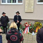 Kranzniederlegung und Gedenken an die Reichspogromnacht