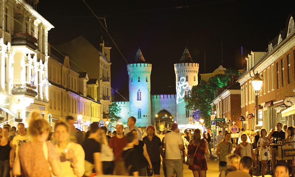 Viele Mitglieder der AG Innenstadt unterstützen große Events wie z.B. die Potsdamer Erlebnisnacht
