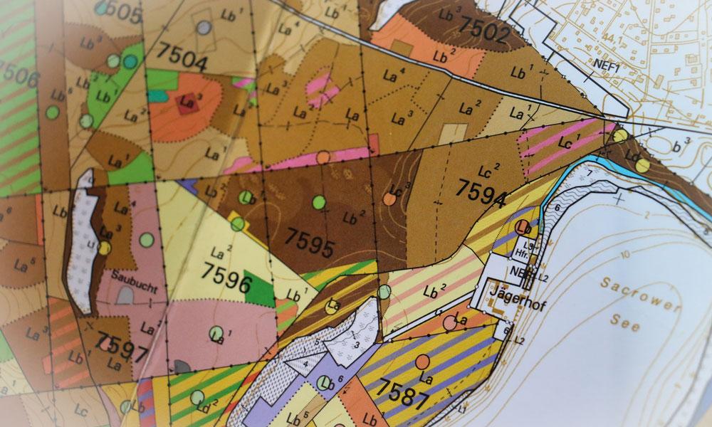 Die akribische Datenpflege ist Grundlage für eine ökologische und wirtschaftliche Planung sowie für die Erstellung verlässlichen Kartenmaterials