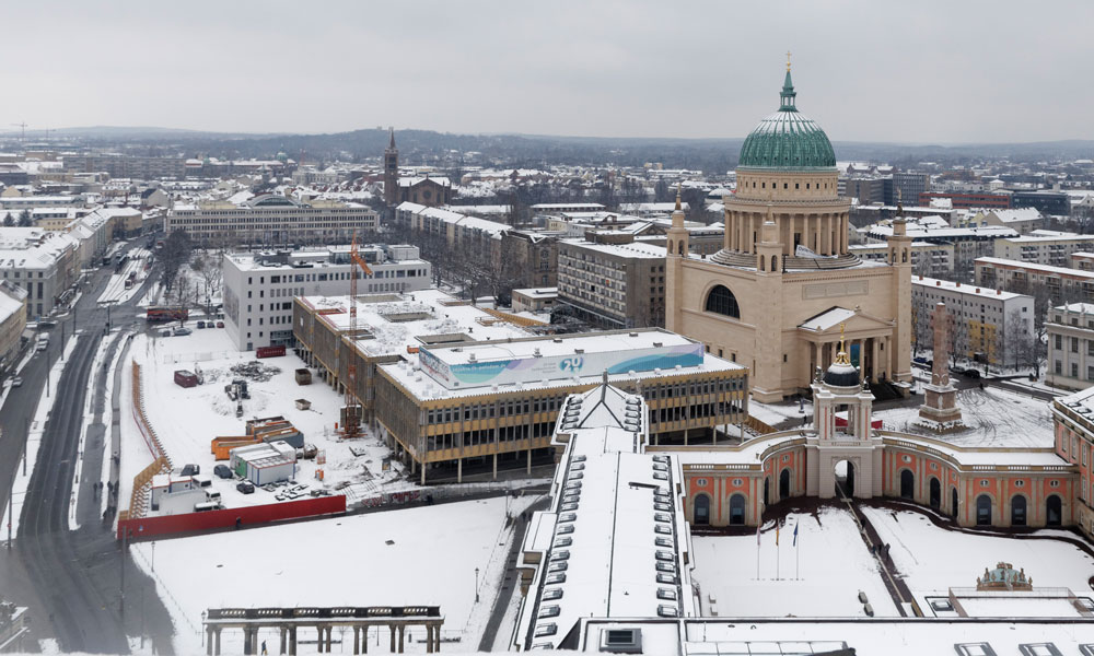 Potsdamer Innenstadt im Winter