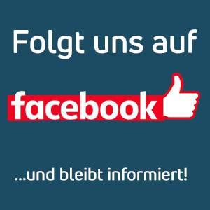 Folgt uns auf facebook