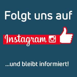 Folgt uns auf Instagram