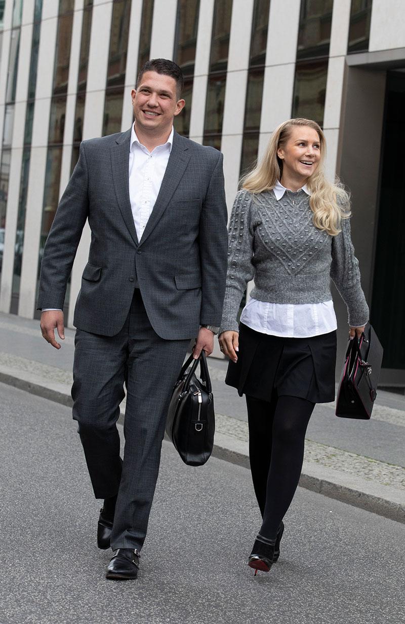 Kompetenz im Doppelpack: Frédéric und Claudia Drews sind auch beruflich ein erfolgreiches Team