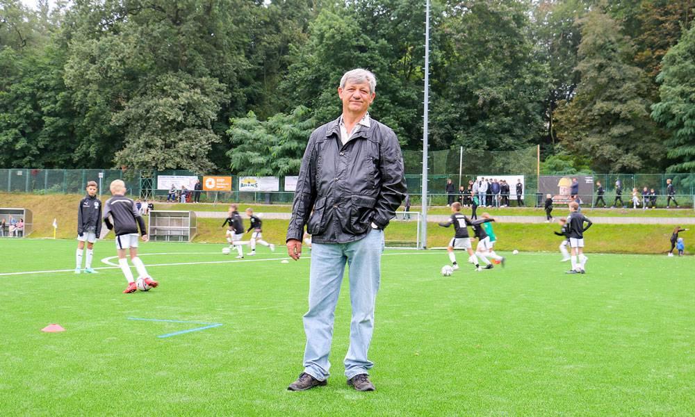 Klaus Rietz ging schon vor Jahren mit gutem Beispiel voran. Es freut ihn, dass sein altes Grundstück heute einen so großen Mehrwert für die Jugend darstellt.