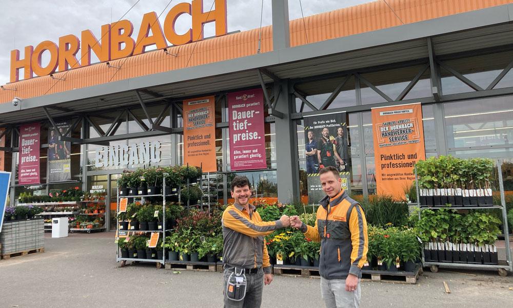Der alte Marktmanager, Mirko Tanneberger (l.), und der neue, Kevin Müller (r.), kennen sich schon lange.