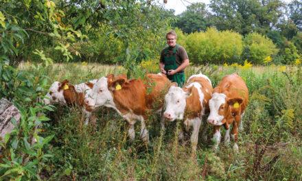 Landwirt aus Leidenschaft