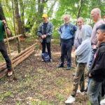 Umweltschutz-Aktion am Sacrower See